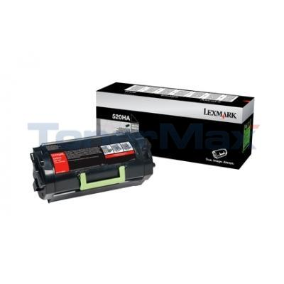 LEXMARK MS810 TONER CARTRIDGE 25K